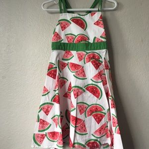 {GYMBOREE} watermelon strappy summer dress